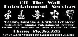 Off The Wall Entertainment Services, McHenry — Our Services: Deejay / Karaoke - Audio / Video Production - Party Entertainment - Equipment Rental - Emcee Services -