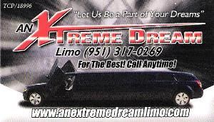An Extreme Dream Limousine, Menifee — Limousine Service for Temecula wine tours,weddings, proms,concerts,casinos and corporate accounts.