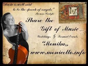 Monicello Music, Toronto — Monicello Classical Music Provides Classical Music for your Wedding or Formal Event.