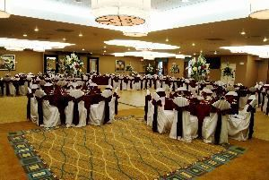 Del Mar Grande Ball Room, Holiday Inn Express Hotel & Suites Conference Center Clearwater, Clearwater — Ball Room Wedding Set-Up