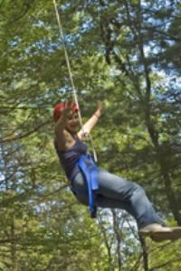 Ropes Course, Camp Scully, Wynantskill — Our Ropes Course has high and low elements and experienced staff will guide you through a team-building, adventure-filled challenge you will not forget.