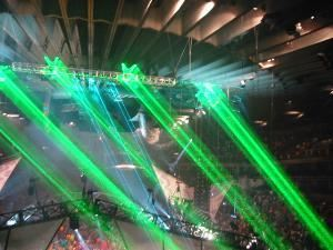 Tribal Existance Productions, Rohnert Park — MANY COLORS AND POWER RANGES FOR OUR HIGH POWER LASER SHOW PROJECTIONS,GRAPHICS AND TEXT. WE ALSO PROVIDE CUSTOM TRUSSING, STAGE WASH AND ANIMATED LIGHTING SERVICES.