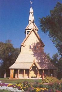 The Stave Church, Hjemkomst Center, Moorhead