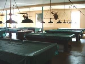 The Pool & Billiards Room, The Portland Club, Portland — The Pool & Billiards Room is a popular activity