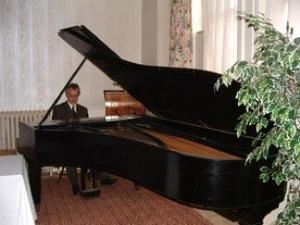 Main Parlor, The Portland Club, Portland — Enjoy The Portland Club Grand Piano in the Main Parlor