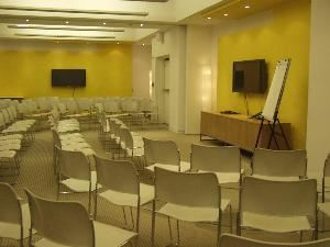 The HRC's Equality Center, The HRC Equality Center, Washington — Our three conference room spaces, joined together and in theatre-style seating