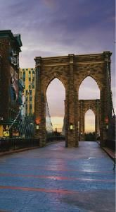 Brooklyn Bridge, New York New York Hotel & Casino, Las Vegas — Brooklyn Bridge