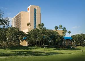 Regal Sun Resort, Orlando — Exterior Tower View located at Downtown Disney.
