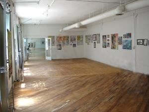 Green Room, The Jack Robinson Gallery, Memphis — Though called the Green Room it no longer has green carpet as the original floors have been refinished.