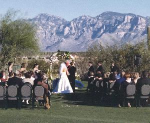 Heritage Highlands at Dove Mountain, Tucson — Outdoor Wedding Ceremony location