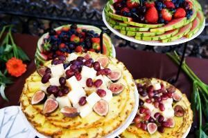Martino's Catering & Special Events, San Diego — Fruit & Imported Cheese Display