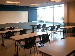Rio Vista Recreation Center, Peoria — Westbrook Room set up classroom style