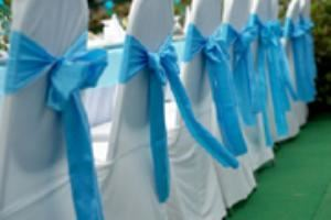 Something Borrowed, Lafayette — Chair Covers and Sashes!!
