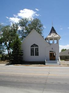 Ruth Memorial Chapel, Parker — Ruth Memorial Chapel, built in 1913, is located in downtown Parker, CO. The chapel seats 70 for your intimate wedding, service or meeting.