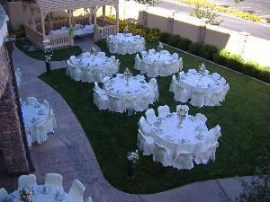 Outdoor Courtyard, Courtyard by Marriott, Rancho Cucamonga