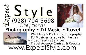 Expect Style, Laughlin — Photography ~ DJ Music ~ Video Taping services