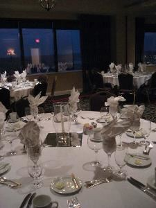 Salon II, The Metropolitan Club, Covington — Located on the West side of the Club, Salon II looks out over the Ohio River and Northern Kentucky. Let the Metropolitan Club show you how an elegant setting can enhance your next business event.
