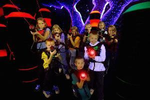 Lazer Tag at Splash Lagoon, Erie