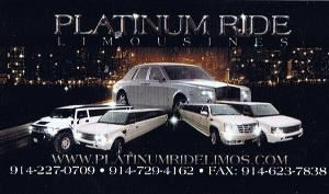 Platinumridelimos, Yonkers — If you live in NY, NJ or CT, reserve one of our exotic limousines for weddings, proms, bachelor or bachelorette parties, casino trips or any other party night out.