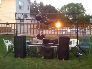 Audio Trio, Oconomowoc — This is one of our DJ sets.