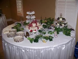 Catering by Creative Events, Clermont — Creative Events Catering takes pride not only in our food, but also in our presentation!  Each of our buffet tables are individually decorated to compliment the theme of the party or event at no extra cost to our customers.