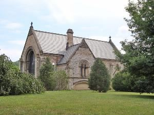 The Norman Chapel, Spring Grove Cemetery & Arboretum, Cincinnati