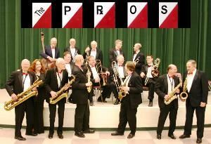 The Pros Big Band, Troy — The Pros Dance Band began in the mid-1960's. It was founded by eight doctors who had a love of music. Rehearsals were originally held at the Harper Grace Hospital. They later moved to Oak Park High School and then to Berkley Community Center. The band currently rehearses at Woodland Church in Royal Oak.