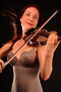 Classical Crossover Violinist Catya Maré, Beverly Hills