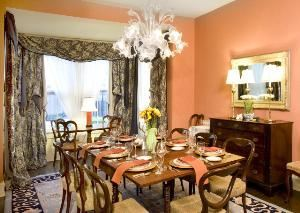 Dining Room, The Oaks Bed And Breakfast, Saluda