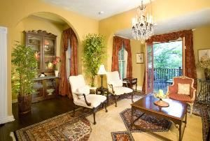 The Parlor, The Oaks Bed And Breakfast, Saluda