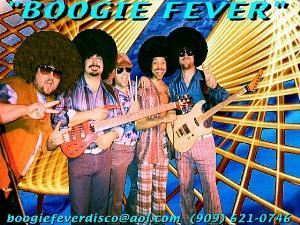 BOOGIE FEVER DISCO BAND, Los Angeles — BOOGIE FEVER is a high energy Southern California based 70's disco dance band accurately reproducing authentic 70's music from the disco era.