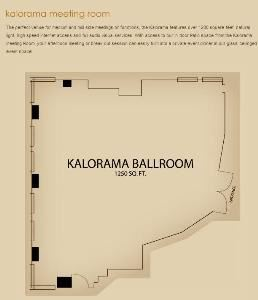 Kalorama Meeting Room, Carlyle Suites Hotel, Washington