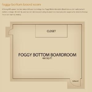 Foggy Bottom Boardroom, Carlyle Suites Hotel, Washington