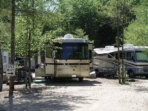 Camp Sites, Point Sebago Resort, Casco — Tenting and RV Sites available