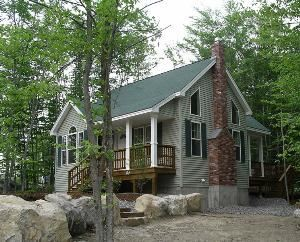 Vacation Homes, Point Sebago Resort, Casco — 2 Bedroom Vacation Homes are available