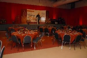 The Enterprise Center, Philadelphia — Business Event Center, Original American Bandstand Studio - Banquet Style
