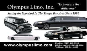 Olympus Limousine and Sedan Service,Inc., Tampa — Let Us Take Care Of Your Ride While You Take Care Of Your Business