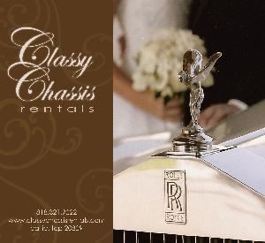 Classy Chassis Rentals LLC, Los Angeles — Classy Chassis Rentals is a full-service transportation company specializing in chauffeur-driven vintage and classic Rolls-Royce and Bentley automobiles in addition to 10 passenger Lincoln Stretch Limousines for your wedding, commitment ceremony, film production or any other special occasion. 