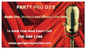 Party Pro DJ's, Fort Myers