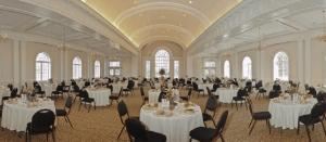River Room, Saint Paul's Church, Augusta — The River Room is a 3,270 square-foot meeting room/reception hall with views of Augusta's Riverwalk and the Savannah River.