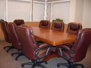 Conference Room - accommodates 8-12 people, Boca Conference & Executive Center, Boca Raton — The room is able to accommodate 8-12 people comfortably depending upon configuration.  It is best suited for mid-size meetings and presentations.