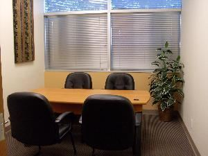 Small Meeting Room - up to 4 people, Boca Conference & Executive Center, Boca Raton — The room is ideal for small meetings or as a break off room for private negotiations while utilizing one of the other meeting/conference rooms.