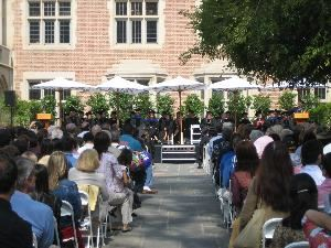 Kerckhoff Coffeehouse Patio, UCLA Student Union Event Services, Los Angeles