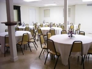 Downstairs Meeting Room Rental starting at $350, Raleigh Elks Lodge, Raleigh — Our lower room is for more intimate occassions and can accomodate up to 90 people