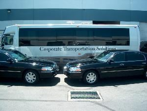 Corporate Transportation Solutions, Sacramento — Complete fleet of Luxury Sedans, SUV's, Vans, Limousines, Limo-Buses, Shuttles, and Buses.