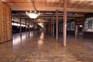 Event Hall, The Cotton Mill in McKinney, McKinney