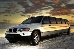 Imperial One Limousine, Oldsmar — Imperial One's BMW X5 SUV Super Stretch Limousine