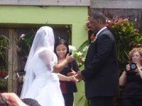 JMK Notary & Services, Miami — Traditional wedding ceremony at the Miami Beach Botanical Garden.