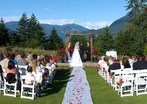 Front Lawn, Skamania Lodge, Stevenson