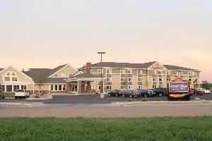 AmericInn of Fort Pierre, Fort Pierre — View from front of hotel property